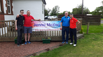 Image for Fund: Jenna McKay - Texas Scramble - Erskine Golf Club on the 18.05.18