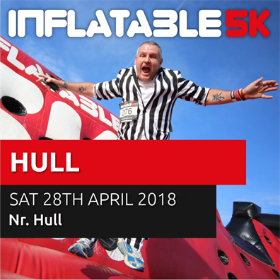image from event 'Inflatable 5k Run - Hull'